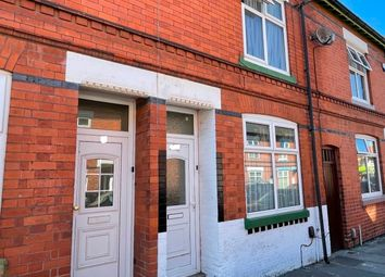 Thumbnail 3 bed terraced house to rent in Chepstow Road, Leicester