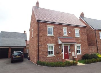 Thumbnail 3 bed detached house for sale in Manley Way, Kempston, Bedford, Bedfordshire