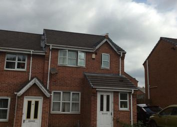 Thumbnail 3 bed end terrace house for sale in Signal Drive, Manchester