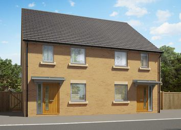"Thumbnail 2 bedroom end terrace house for sale in ""The Hardwick"" at Heron Road, Northstowe, Cambridge"