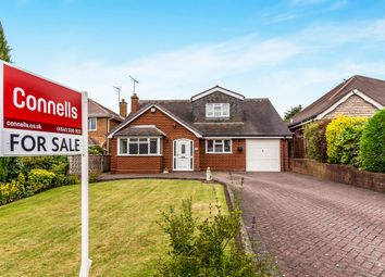Thumbnail 4 bed detached bungalow for sale in Sherbrook Road, Cannock