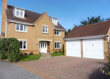Thumbnail 5 bedroom detached house for sale in Chisholm Close, Wootton, Northampton