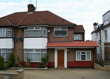 Thumbnail 5 bed semi-detached house to rent in West Hill, Wembley
