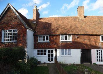 2 bed terraced house for sale in West End, Marden, Tonbridge TN12