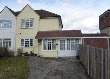 Thumbnail 3 bed semi-detached house for sale in Montacute Road, New Addington, Croydon