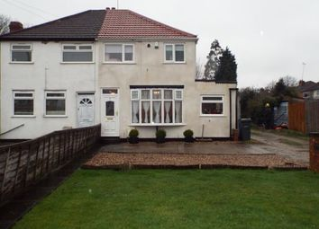 Thumbnail 2 bed semi-detached house for sale in Swinbrook Grove, Birmingham, West Midlands