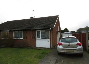 Thumbnail 2 bed semi-detached bungalow for sale in Matlock Drive, North Hykeham, Lincoln