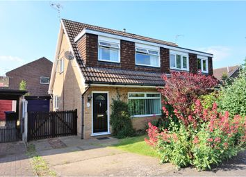 Thumbnail 3 bed semi-detached house for sale in Peakdale Close, Long Eaton