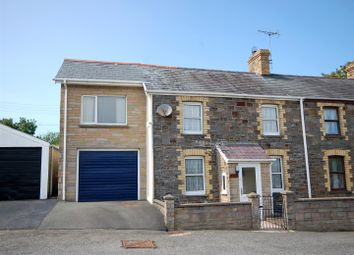 Thumbnail 3 bed semi-detached house for sale in Comins Coch, Aberystwyth