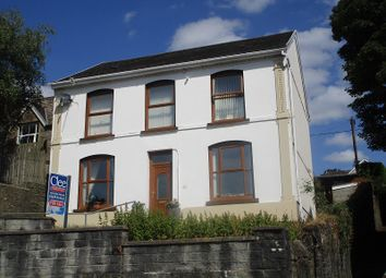 Thumbnail 4 bed detached house for sale in Commercial Street, Ystalyfera, Swansea.