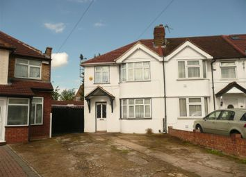 Thumbnail 3 bed end terrace house to rent in Ash Grove, Heston, Hounslow