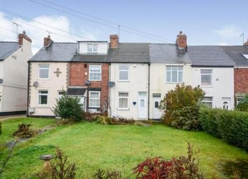 Thumbnail 2 bed terraced house for sale in Chesterfield Road, Barlborough, Chesterfield, Derbyshire