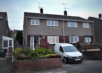 Thumbnail 3 bed semi-detached house for sale in Manor Way, Risca, Newport