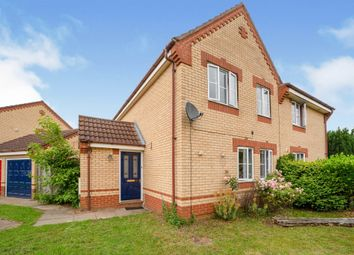 Thumbnail 3 bed semi-detached house for sale in Yarrow Close, Thetford
