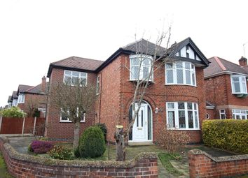 Thumbnail 4 bed detached house for sale in Edward Road, Nuthall, Nottingham