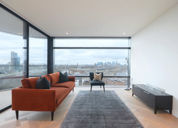 Thumbnail 2 bed flat for sale in Principal Tower, 2 Principal Place, London