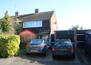 Thumbnail 3 bed semi-detached house for sale in Rochelle Close, Thaxted, Dunmow