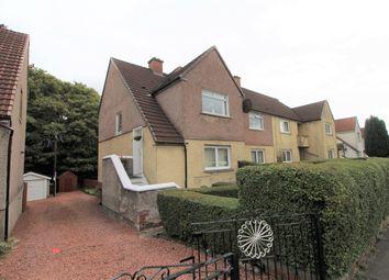Thumbnail 3 bed flat for sale in Lomond Road, Coatbridge