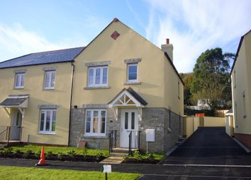 Thumbnail 3 bed semi-detached house to rent in Bay View Road, Duporth, St Austell, Cornwall