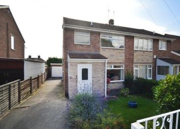 Thumbnail 3 bed semi-detached house for sale in Leedham Close, Sheffield, South Yorkshire