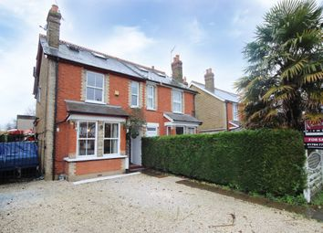Staines Road, Laleham, Staines TW18. 4 bed semi-detached house for sale