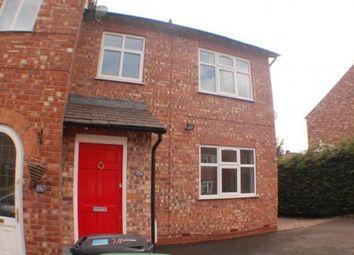 Thumbnail 3 bed end terrace house to rent in D Park Road, Wilmslow, Cheshire