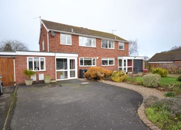 Thumbnail 3 bed semi-detached house for sale in Greenhill Close, Tenbury Wells