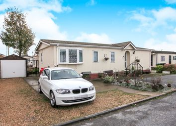 Thumbnail 3 bed mobile/park home for sale in Fengate Mobile Home Park, Fengate, Peterborough
