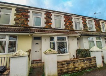 Thumbnail 3 bed terraced house to rent in New Park Terrace, Treforest