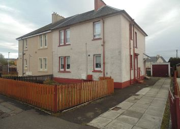 Thumbnail 2 bed flat for sale in Stenton Crescent, Wishaw