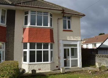 Thumbnail 3 bedroom semi-detached house for sale in Lon Cae Banc, Swansea