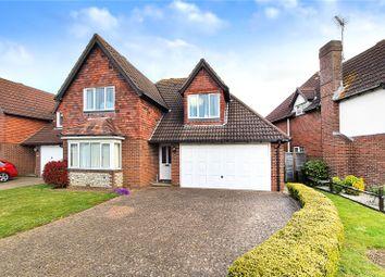 Windsor Drive, Rustington, West Sussex BN16. 4 bed detached house for sale