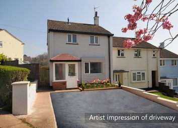 Thumbnail 2 bed end terrace house for sale in Raleigh Avenue, Torquay