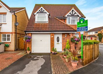Thumbnail 3 bed detached house for sale in Heathfield Park, Middleton St. George, Darlington