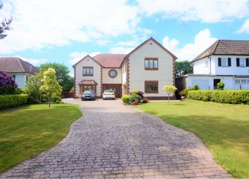 Thumbnail 4 bed detached house for sale in Gilfach Road, Neath