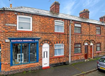 Thumbnail 2 bed terraced house for sale in Arnold Street, Nantwich, Cheshire