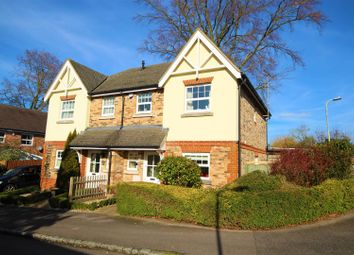Thumbnail 3 bed semi-detached house for sale in Russett Gardens, Ruscombe, Reading