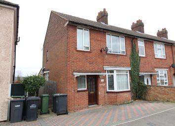 Thumbnail 3 bed end terrace house to rent in Corncastle Road, Luton