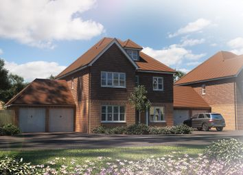 "Thumbnail 5 bedroom detached house for sale in ""The Bewick"" at Tile Barn Row, Woolton Hill, Newbury"