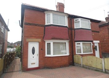 Thumbnail 2 bed semi-detached house to rent in Newbold Terrace, Doncaster