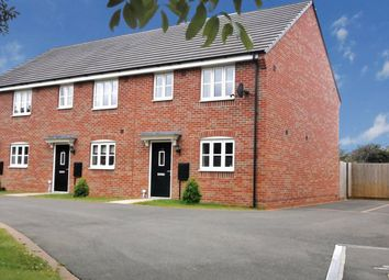 Thumbnail 3 bedroom terraced house for sale in Thruxton Close, Hinckley