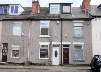 Thumbnail 3 bed terraced house for sale in Princes Street, Mansfield