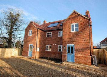 Thumbnail 3 bedroom semi-detached house to rent in Melton Mews, Briston Road, Melton Constable