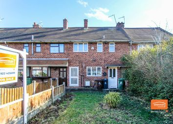 Thumbnail 3 bed terraced house for sale in Neath Road, Mossley, Walsall