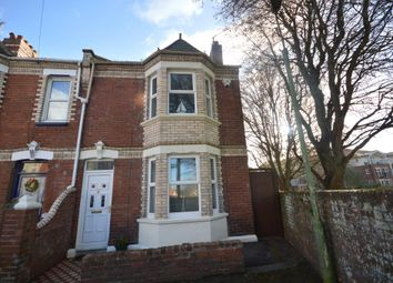 Thumbnail 3 bed end terrace house for sale in Rugby Road, Exeter, Devon