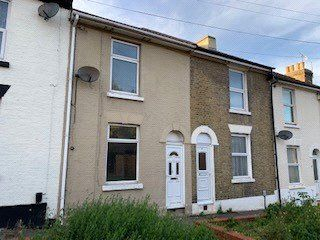 Thumbnail 2 bed terraced house to rent in Dale Street, Chatham, Kent