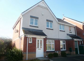 Thumbnail 3 bed end terrace house to rent in Wearhead Drive, Sunderland, Tyne And Wear