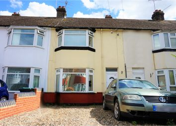 Thumbnail 2 bed terraced house for sale in Abbey Road, Gravesend