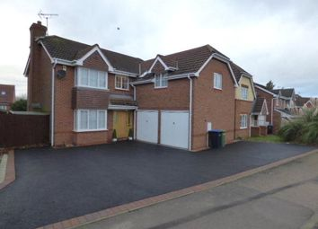 Thumbnail 5 bed detached house for sale in Speedwell Drive, Broughton Astley