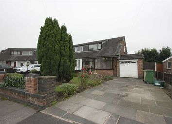 Thumbnail 3 bedroom semi-detached bungalow for sale in Carron Grove, Breightmet, Bolton